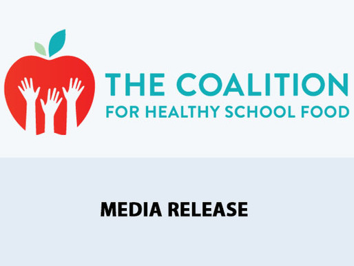 Coalition calls for A National School Food Program to be included in the next Throne Speech
