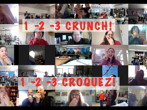2021's Virtual Great Big Crunch was a Great Big Hit