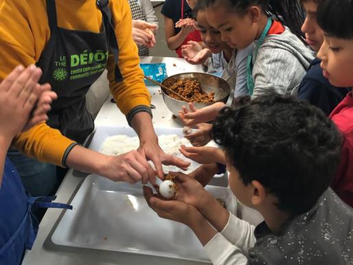 Les programmes alimentaires et nutritionnels complets et intégrés dans les écoles canadiennes