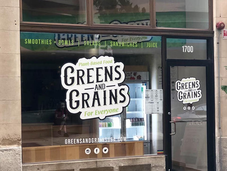Vegan Eatery Greens and Grains Is Opening Their Second Philly Location