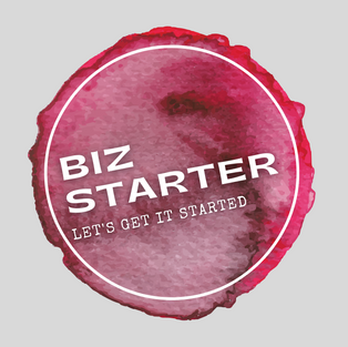 Biz Starter Package. Website, domain, logo, business card, social feeds, marketing strategy and support.