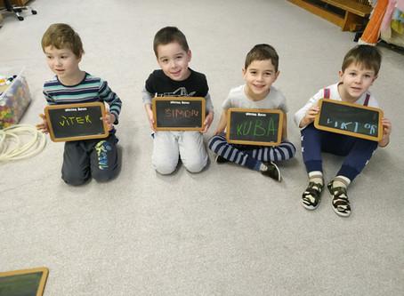 Ukázkové hodiny s předškoláky