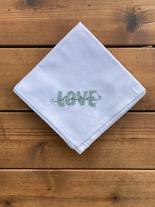 Love - Flour Sack Towel