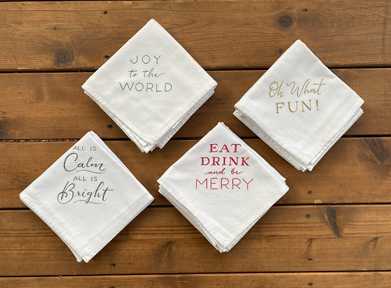 Holiday Set - Flour Sack Towel
