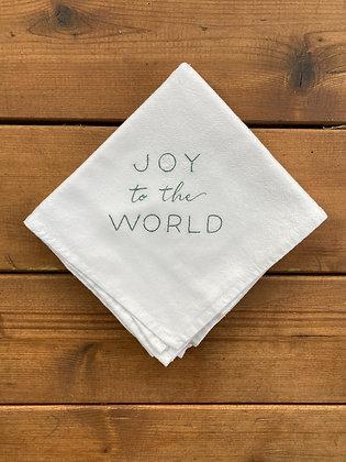 Joy to the World - Flour Sack Towel