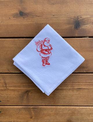 Santa - Flour Sack Towel