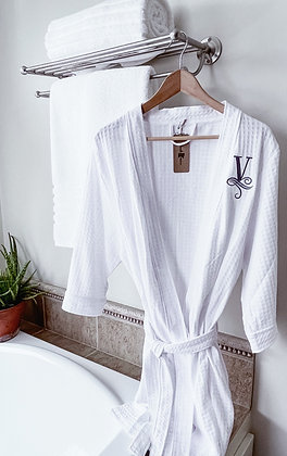 Monogram Bath Robe