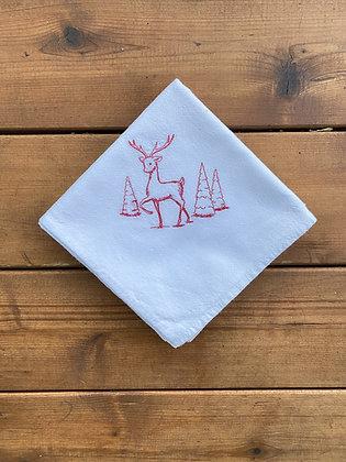 Reindeer - Flour Sack Towel
