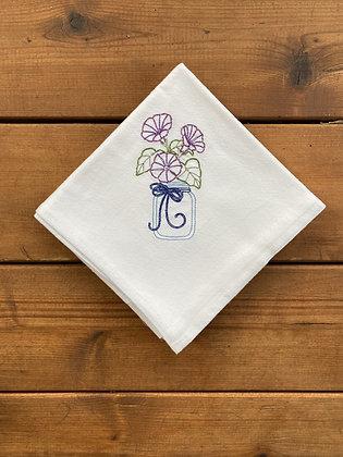 Purple Flower - Flour Sack Towel