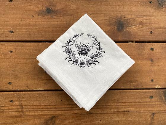 French Bee - Flour Sack Towel