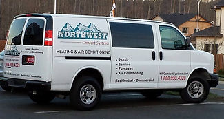 Northwest Comfort Services Truck