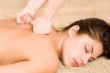 Deep tissue massage at Aura Heritage Spa