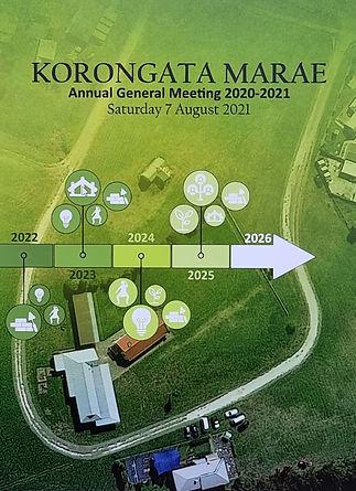 Korongata Marae AGM Report 2020-2021