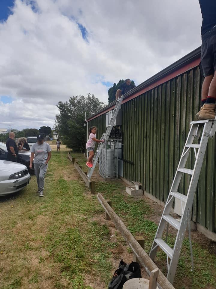 KM Whanau working bee 30.1.21 zk