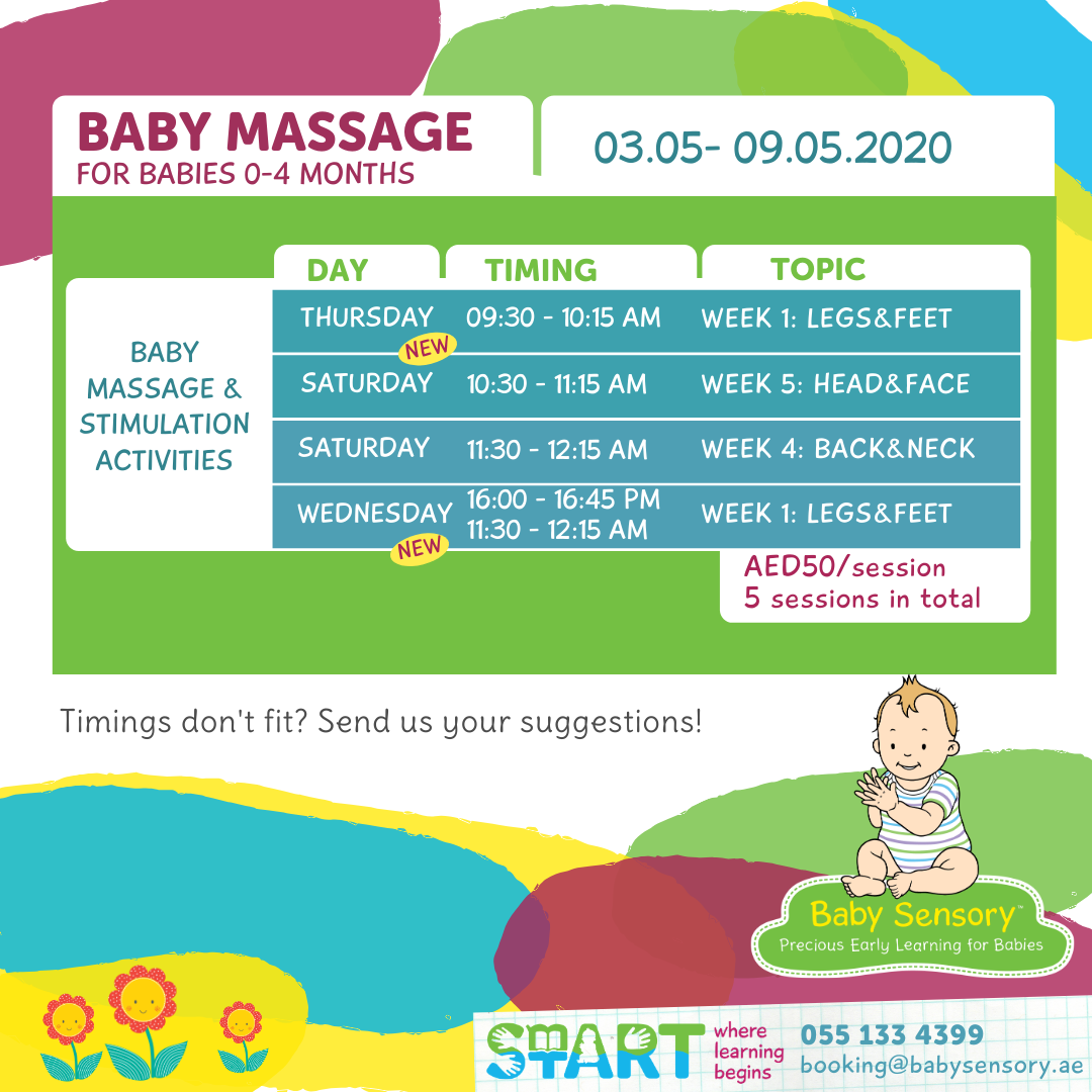 Schedule Baby Massage