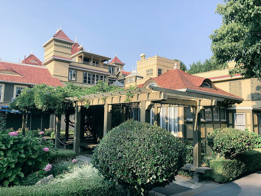 another exterior of Winchester House.