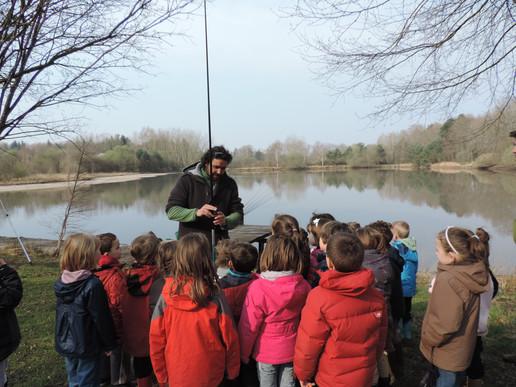 Animations scolaires pêche, Loir et Cher