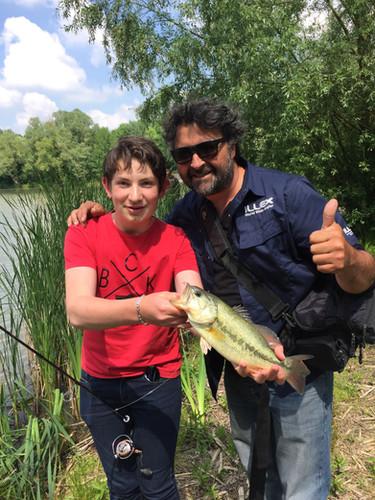 Club Pêch'Ados val de Loire et Sologne, Conluence pêche guide de pêche, loir et cher, région centre