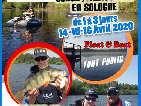 Stage & Rencontre - Sologne - 14/15/16 avril 2020 (de 1 à 3 jours)