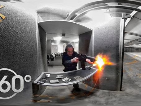360 Video at Range with Arsenal SLR-106 AK Pistol