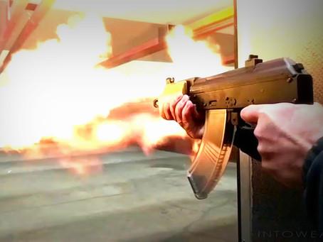 Web Exclusive: Slow Motion Micro Draco AK Pistol with AK Flash Enhancer!