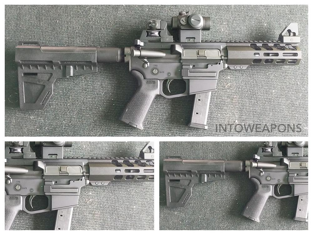 PSA PG-9 PA-9 AR-9 9mm Shockwave Pistol