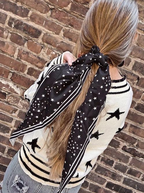 Star Hair Scarf