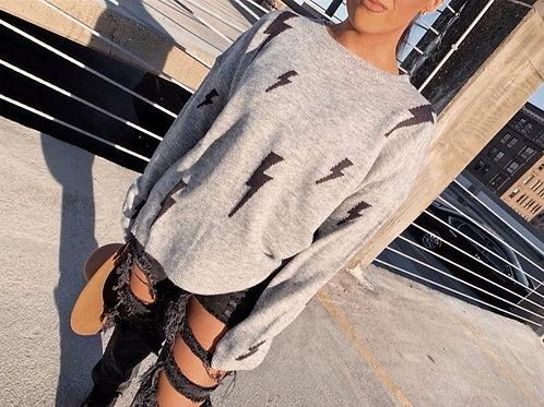Lightening Bolt Sweater