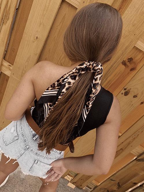 Cheetah Hair Scarf