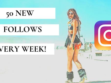 Organic Instagram Growth In 2020 (50 New Follows Per Week!)