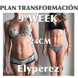 Cambio brutal. Ella pensaba que nunca jamás volvería a tener su abdomen de la misma manera._