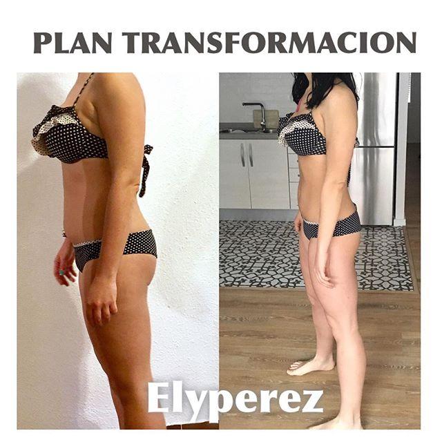 Un cambio físico es algo que no se hace en 30 días , puesto que hay que mantenerlo en el tiempo