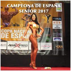 CAMPEONA DE ESPAÑA SENIOR 2017