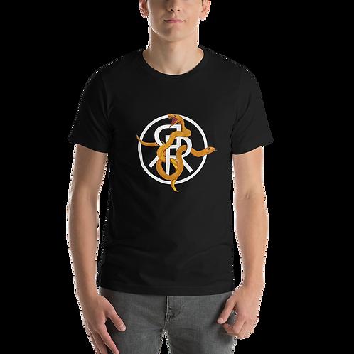 Short-Sleeve Unisex snake logo T-Shirt