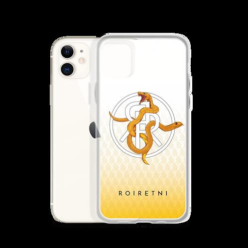 Snake iPhone Case White
