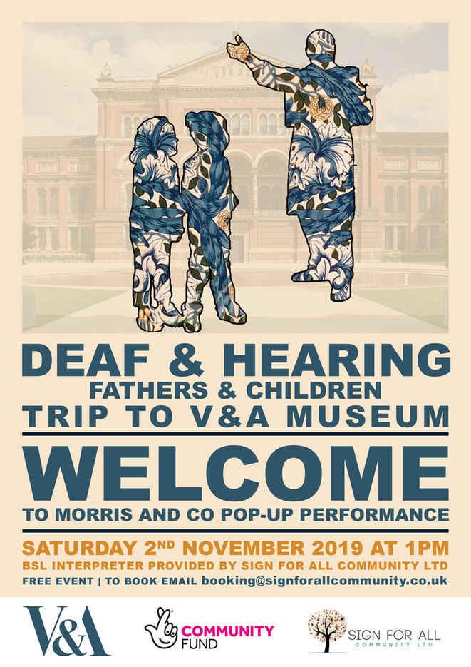 V&A Museum trip poster