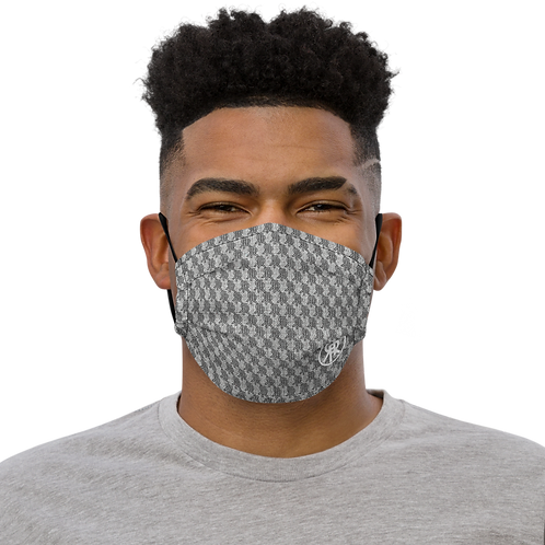 Roiretni Grey pattern Face mask