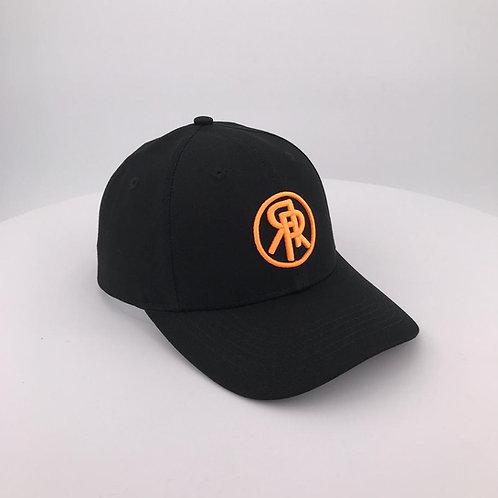 Silk lined Snapback - Neon Orange