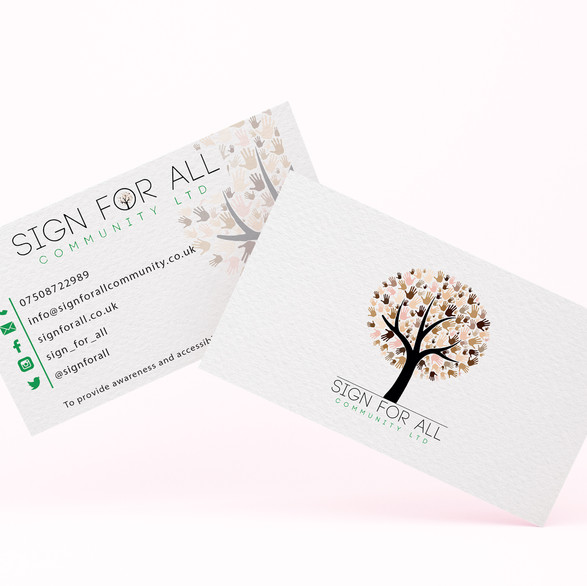 Sign For All Business Card