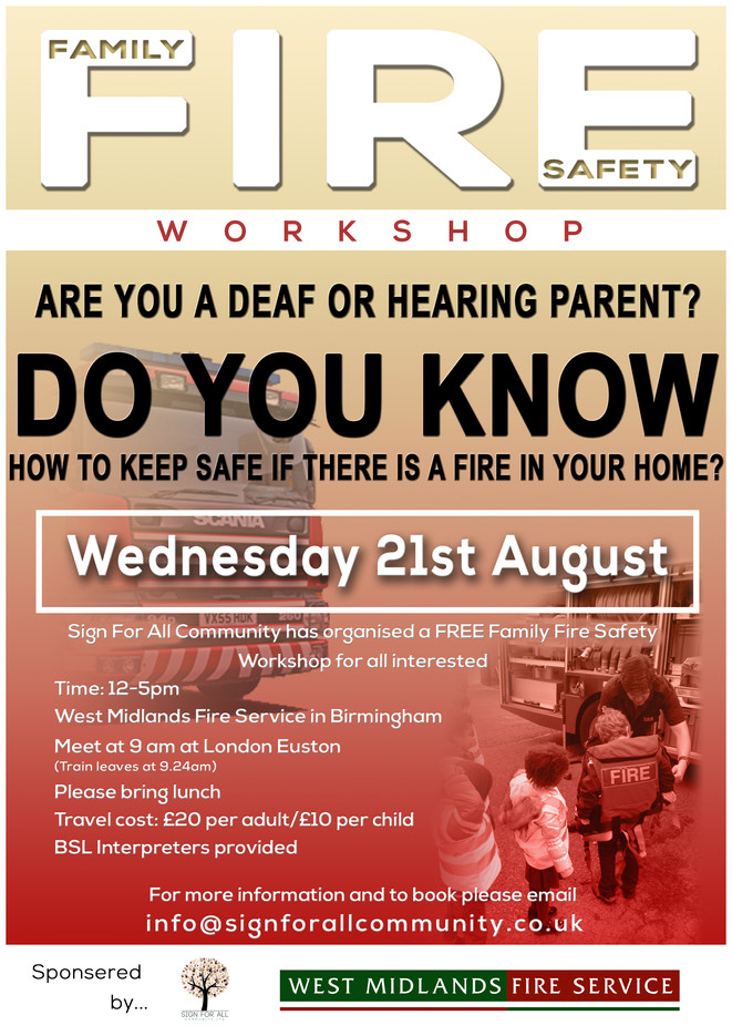 Family fire safety workshop
