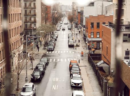 Morando no Brooklyn, NYC
