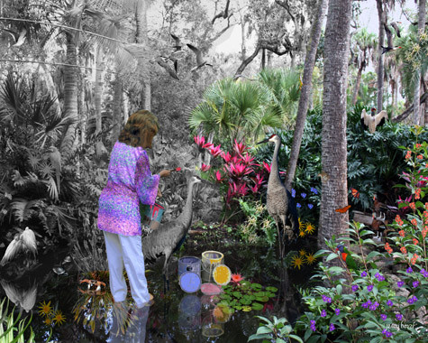 Painting the Garden