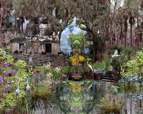 Mayan garden