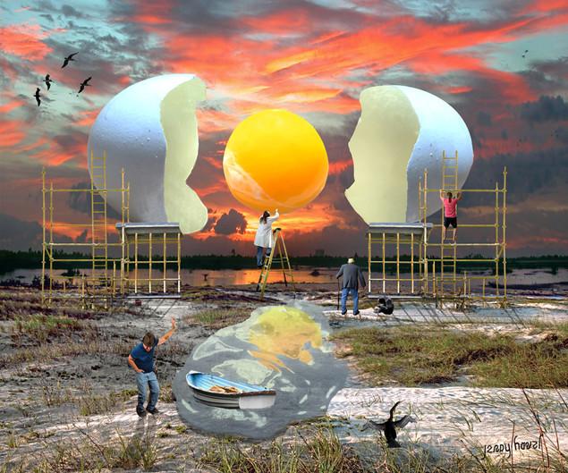 cracking the cosmic egg