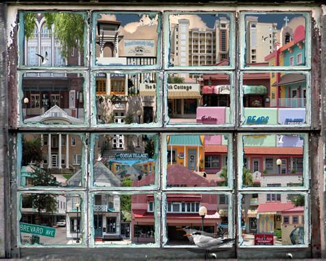 Cocoa Village window 2