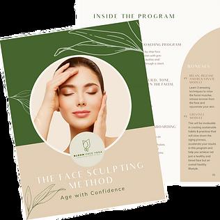 The Face Sculpting Method Program Guide