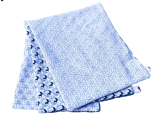 Farm Animal Mini-Blankets