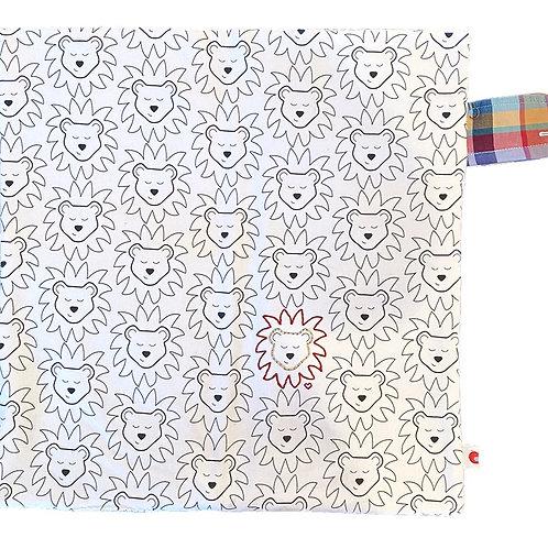 Lion Lovie Blanket