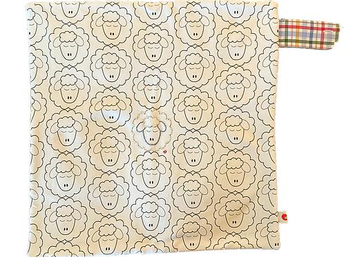 Sheep Lovie Blanket