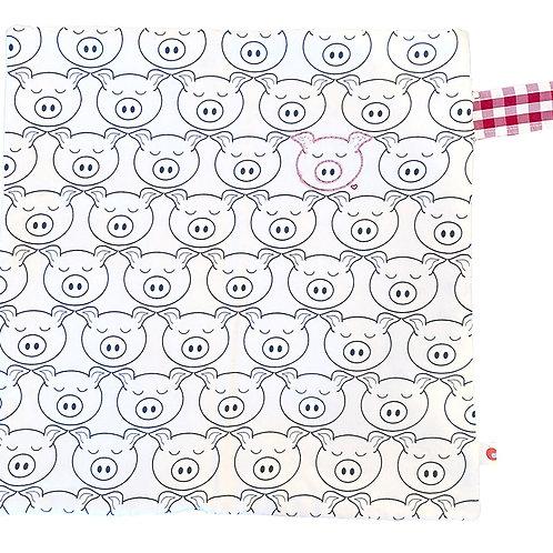 Pig Lovie Blanket